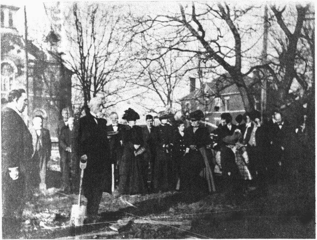 1910 Church Groundbreaking
