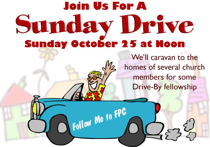 Sunday Drive Oct 25