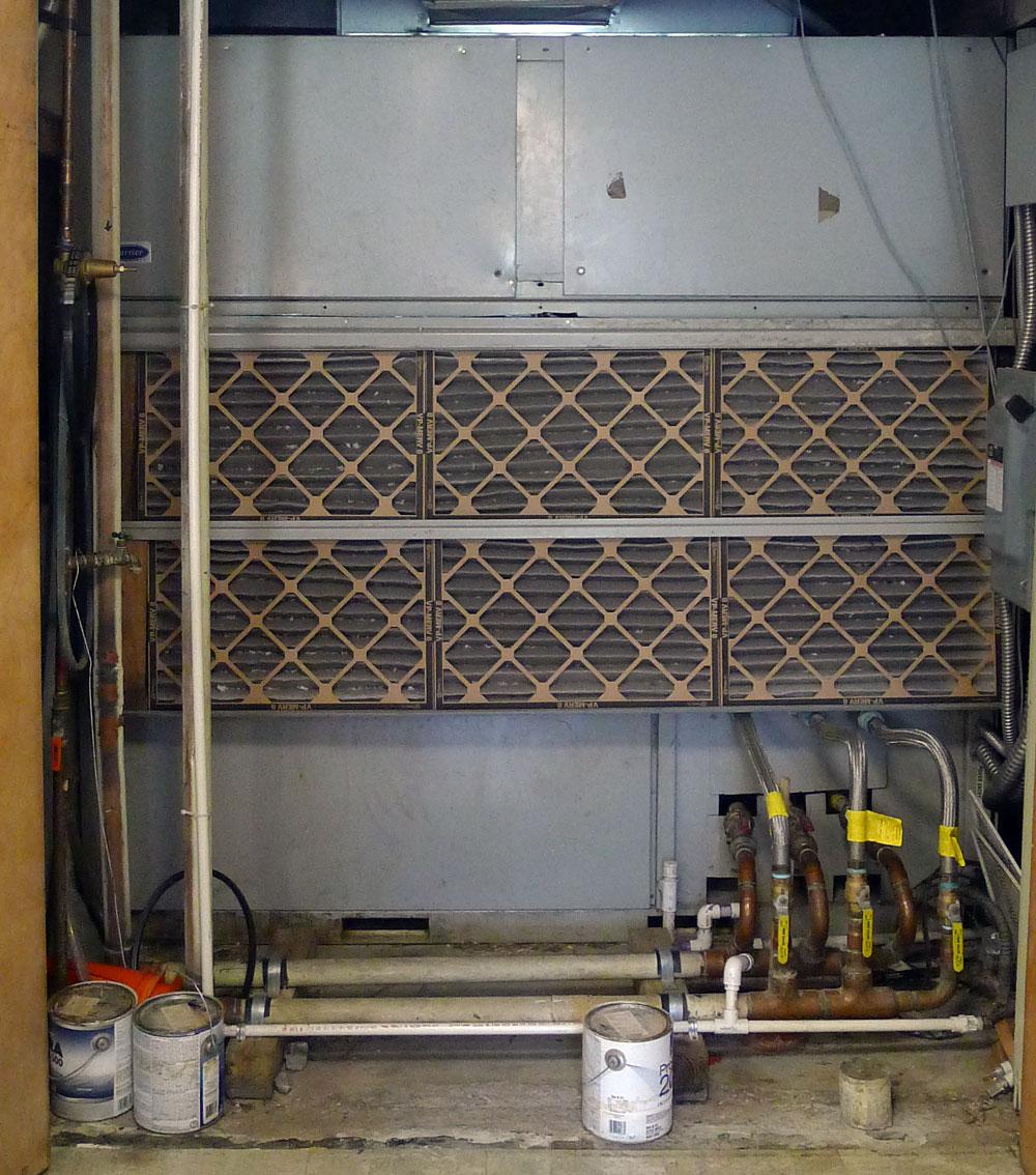 The kitchen HVAC
